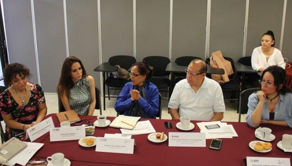 Reunión de trabajo de consejeros IEPC