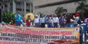 La dirigencia de la CNTE en Chiapas