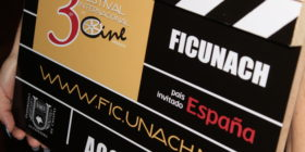 Claqueta oficial del 3er Festival Internacional de Cine de la UNACH.