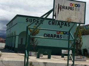 El supermercado Chiapas, abandonado. Foto: Chiapas Paralelo
