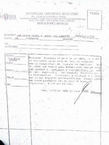 El diagnóstico de Guillain-Barré de la señora María C Jiménez García en el Hospital Chiapas Nos Une Dr. Jesús Gilberto Gómez Maza.
