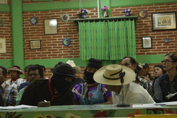 Congreso Nacional Indígena 2016. Foto: Abejas de Acteal