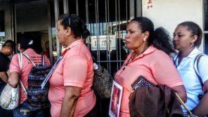 Madres que buscan a sus hijos desaparecidos