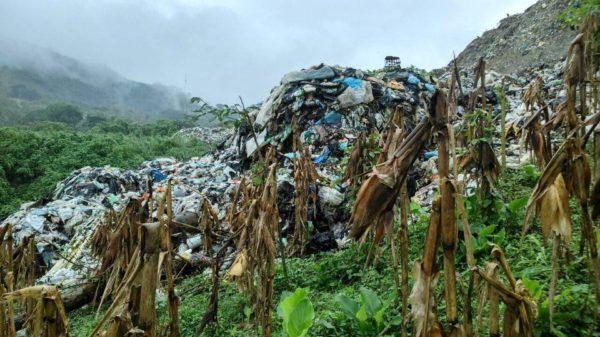 140 familias enferman por contaminación que genera basurero en Yajalón Autoridades compraron con engaños un predio al poblado Saclumul, donde desechan miles de toneladas de basura