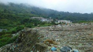 Autoridades compraron con engaños un predio al poblado Saclumul, donde desechan miles de toneladas de basura