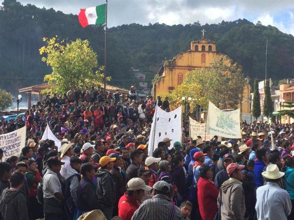 Proyectos extractivos impactan a las comunidades indígenas. Foto: Chiapas Paralelo