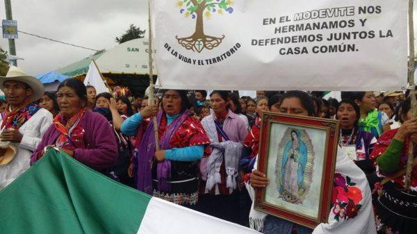 Movimiento por la Defensa de la Vida y el Territorio. Foto: Chiapas Paralelo
