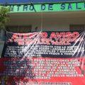 Paro de trabajadores del Sector Salud en Chiapas. Foto: Cortesía