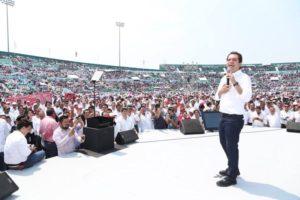 El accidentado informe de Roberto Albores Gleason en el estadio del recién descendido Jaguares ha dibujado el escenario para las elecciones a gobernador en el 2018.