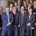 Los gobernadores. Foto: Presidencia de México