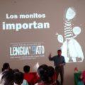 """Presentación del periódico para niños y niñas """"Lengua de Gato"""". Foto: María Gabriela López Suárez"""