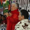 Verónica Gómez. Primer Congreso Feminista de Chiapas, 2016