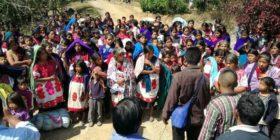 Habitantes de 8 comunidades de Chalchiuitán fueron desplazados. Foto: Cortesía