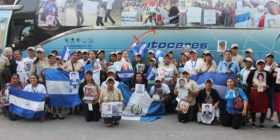 XIII Caravana de Madres Centroamericanas de Migrantes Desaparecidos en su llegada a la UNACH. Foto: Andrés Domínguez