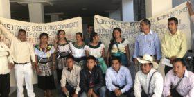 Habitantes de Chilón y Sirtalá demandan la elección de sus autoridades por el sistema de usos y costumbres. Foto: Ángeles Mariscal