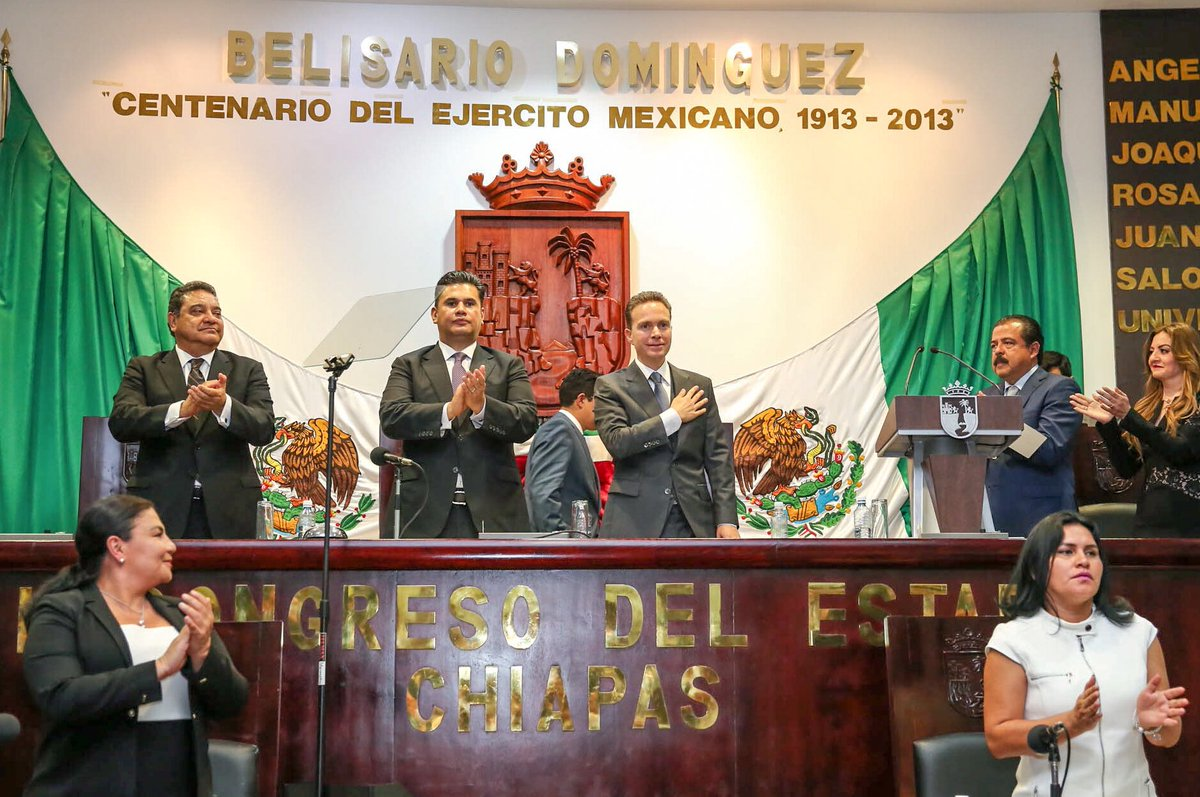 Chiapas está de pie, afirma Velasco en su 5º Informe