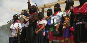 """""""Acordamos vivir y vivir es luchar"""", mujeres zapatistas inauguran Encuentro  Foto Hazel Zamora Mendieta (2)"""