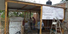 Colonos organizados de Plan de Ayala inauguran casa común (17)
