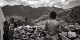 Aldama, Chiapas; marzo de 2018. Vista de las montañas que forman el límite natural entre el municipio de Aldama y Chenalhó, en los Altos de Chiapas. Foto Carlos Ogaz