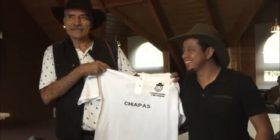 Mireles apoya concejo de gobierno de Oxchuc. Foto: Chiapas Paralelo