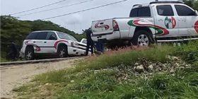 En La Trinitaria fue emboscado el candidato del PRI, Ervin Pérez Alfaro
