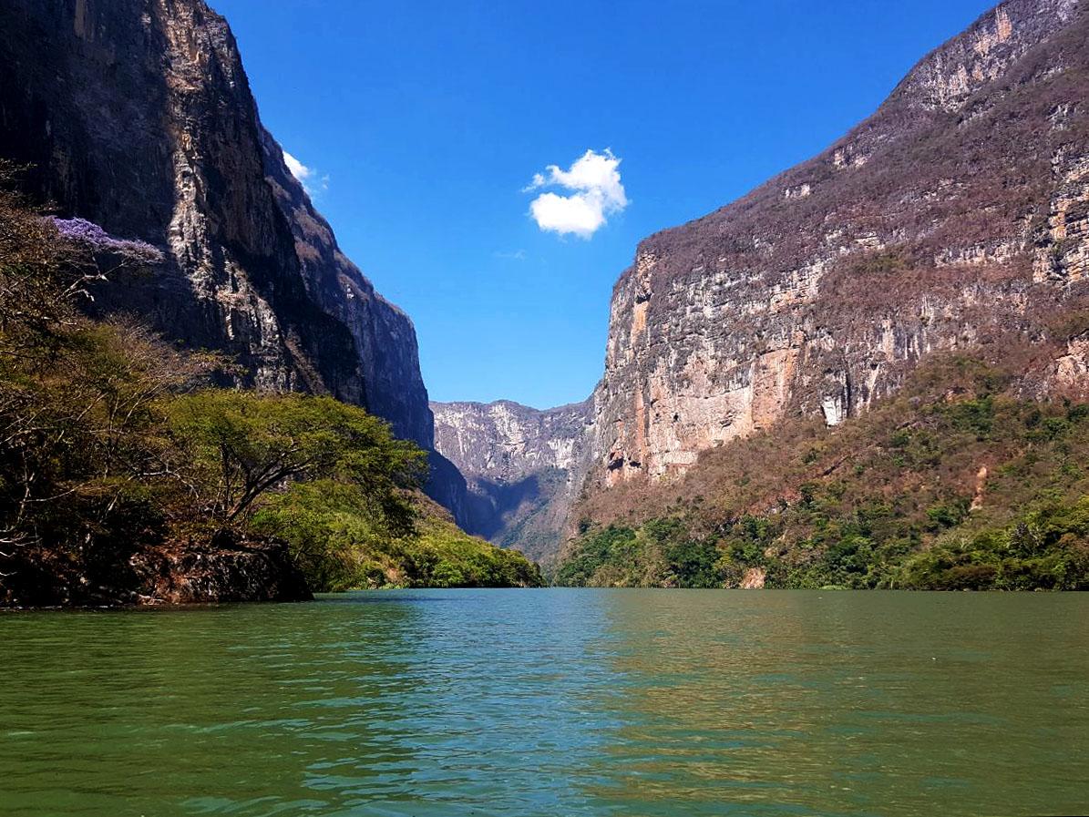Río Usumacinta, de los ríos de México más bellos.
