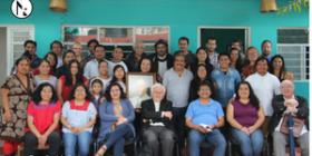 El Comité Directivo del Centro de Derechos Humanos Fray Bartolomé de las Casas, AC. (Frayba) e integrantes.
