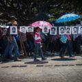 Ayotzinapa 4 años Peña Nieto se va con las manos manchadas de sangre joven - Foto Roberto Ortiz (5)