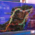 Mapa del recorrido del Tren Maya-Peninsular