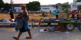 #CaravanaMigrante deja tierras chiapanecas y avanza a Oaxaca Foto Roberto Ortiz (19)