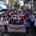 La marcha por la dignidad de Chiapas   Foto: Roberto Ortiz (9)