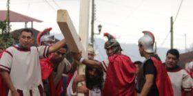 Pasión de Cristo en Unión Juárez   Por Adelita León