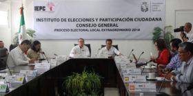Entrega IEPC constancias de mayoría a candidaturas electas en proceso extraordinario.