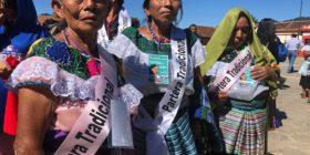 Parteras del sur de México se reúnen en Chiapas para exigir respeto a su labor.  Fotos: Isaín Mandujano