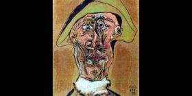 Cabeza de arlequín/Picasso.