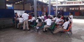 Escuela Jorgé José Sabines Guerrero en Salto de Agua, Chiapas (8)