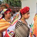 Durante la celebración se realiza la danza del Yomoetzé. Foto: Sandra de los Santos.