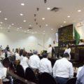 El pleno del Congreso del Estado de Chiapas.