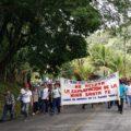 Habitantes de Solosuchiapa exigen la cancelación de concesiones mineras en su municipio. Foto: Archivo