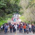 Marcha-peregrinación exige salida de actividad minera en Solosuchiapa