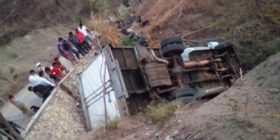 Migrantes se accidentan en Chiapas. Foto: Cortesía