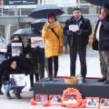 Familia de Mariano Abarca frente a la Corte de Justicia de Canadá.