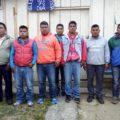 Reos en huelga, en el penal de San Cristóbal de las Casas. Foto: Cortesía