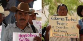 Pueblos zapotecos exigen a López Obrador que honre su palabra y defienda a pueblos originarios de empresas mineras