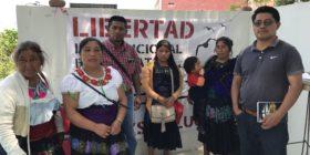 Familiares de presos en huelga de hambre. Foto: Ángeles Mariscal