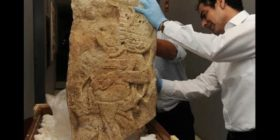 EU entrega a México pieza prehispánica de Chiapas