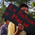 Por redes y consignas, nueva generación protesta por un medio ambiente sano Foto - Roberto Ortiz (2)