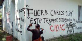Habitantes de Solosuchiapa toman minera de Carlos Slim