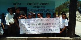 Indígenas de Chilón y Sitalá reclaman la ausencia de formalidad y respeto hacia sus comunidades, por parte del IEPC y el INAH. Foto: Cortesía