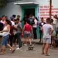 Para evitar ser deportados, decenas de migrantes esperan la regulación de su estatus migratorio en México. Foto: Darinel Zacarías